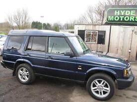 LAND ROVER DISCOVERY TD5 (blue) 2003