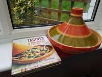 Tagine and Cookbook Lakeland