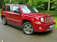 2010 JEEP PATRIOT 2.0CRD*LIMITED EDITION*TOP SPEC*LEATHERS*NAVIG'N*H/SEATS*S/STEPS#X-TRAIL#LANDROVER