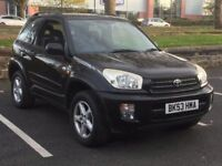 2004 TOYOTA RAV 4 * 2.0 NRG* 3 DOOR * LOW MILES * SERVICE HISTORY * LONG MOT * PART EX * DELIVERY