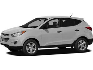 2012 Hyundai Tucson L MANUAL TRANSMISSION & CERTIFIED ACCIDEN...
