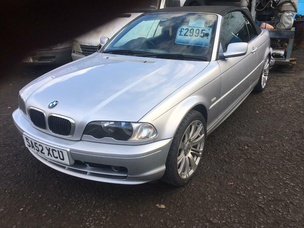 bmw e46 318 ci convertible in blairgowrie perth and kinross gumtree. Black Bedroom Furniture Sets. Home Design Ideas