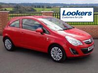 Vauxhall Corsa EXCITE (red) 2011-09-17