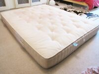 Dunlopillo Latex connoisseur king size mattress USED/MARKED Retails for £1150