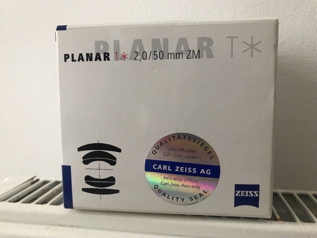 Carl Zeiss Planar 50mm F2 ZM Leica M mount lens with box | in West  Hampstead, London | Gumtree