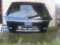 audi a3 tailgate boot. black s line
