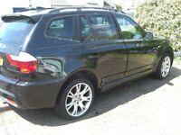 BMW, X3, Estate, 2007, Spares or Repair Semi-Auto, 1995 (cc), 5 doors