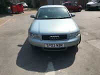 2003 Audi A4 1.9 diesel 7 months mot and 3 months and very good condition any test