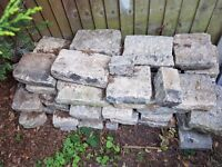 Job lot of 'seconds' Granite Sets in grey - various sizes