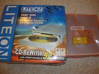 NEW CD-ReWriter DRIVE with ATAPI-interface 52 x32x52x