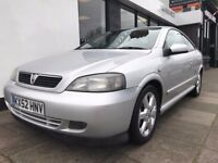 Vauxhall Astra 1.8 i 16v Coupe Edition 2dr PARTS & LABOUR WARRANTY