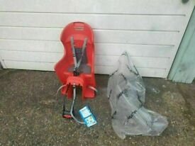 Raleigh Avenir Snug Child Seat - Red full leg protection new condition