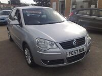 2007 57 VOLKSWAGEN POLO 1.2 5DR