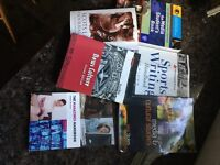 University books for journalism and sports studies