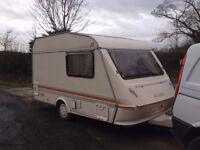 Elddis wisp 350/2 1993 year with awning no damp