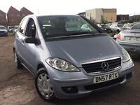 Mercedes A CLASS A150 2008 + FULL SERVICE HISTORY + MARCH 2018 MOT + DRIVES SUPERB