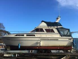 BOAT / LIVE ABOARD PRINCESS 33 FLYBRIDGE TWIN DEISEL