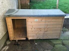Dog box for sale.