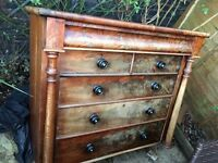 Shabby chick draws cupboard project
