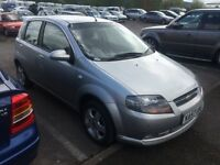 2008/57 Chevrolet kalos. 1.2 manual. 55000.