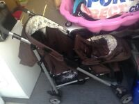 Mothercare Hoxton Tandem Pushchair