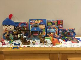 Mike the Knight toys and stationary bundle