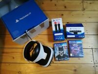 PlayStation Vr+ camera + PlayStation move +2Games