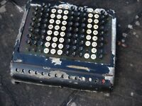 Burroughs calculator