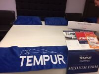 BRAND NEW EX DISPLAY TEMPUR ORIGINAL DELUXE 22 kingsize mattress MASSIVE SALE NOW ON ALL FURNITURE