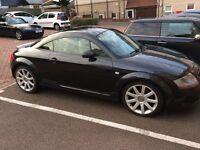 Audi TT Black With Cream Leather Seats 225 BHP 1.8 Turbo