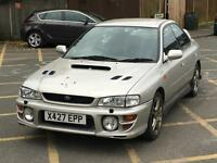 2001 SUBARU IMPREZA TURBO 2000 VERY LOW MILES UK WRX STI STARTS AND DRIVES NO MOT CHEAPEST IN THE UK