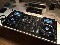 Pioneer DJ CDJ2000 NXS2 Decks DJM900 NXS2 Mixer Nexus 2