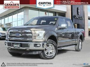 2015 Ford F-150 Lariat SuperCrew  **Remote Start-Heated/Cooled S