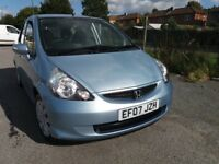 HONDA JAZZ 1.4 SE (Blue) Genuine one owner car with full history, Excellent drive, 2 minor marks