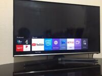 smart samsung 32 inch full hd 1080p led tv+built in apps+wifi+freeview hd+remote+DELIVERY