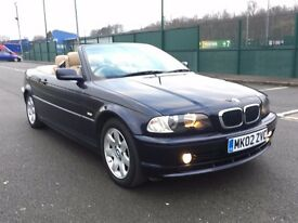 2002 BMW 3 Series 2.0 318Ci Convertible 2dr Petrol * 2 OWNER * FULL SERVICE HISTORY * LEATHER * PX
