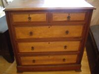Edwardian (?) chest of drawers