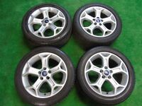 "FORD MONDEO, GALAXY, FOCUS, TRANSIT CONNECT, C-MAX, S-MAX 17"" inch ALLOY WHEELS"