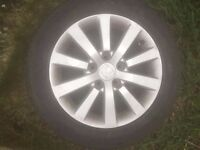 Honda Civic EP2 Sport Wheels/Alloys 16 Inch Good Thread