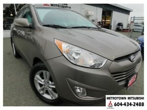 2012 Hyundai Tucson GLS; Local BC vehicle! LOW KMS!