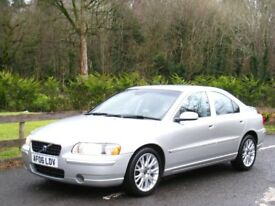 2006 VOLVO S60 D5 185 SPORT 6-Spd MANUAL **1 Owner - FSH - Full MOT - Just Serviced - Immaculate**