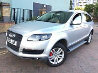Audi Q7 Sline 2007 (07reg) diesel 3.00, Fully leather seats,Full service History,Excellent condition