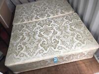 Kingsize Divan Sprung Bed Base