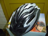 Two Bicycle Helmets