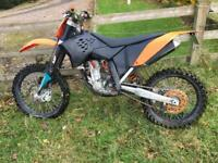 2007 ktm sxf250 Road registered legal sxf sx MOT 250 motocross mx enduro px swap