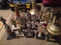 selection of trophys