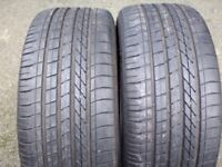 """245 40 19"""" GOODYEAR EXCELLENCE TYRES 5.85mm RUN FLATS BMW AUDI MERCEDES FOR ALLOYS WHEELS"""