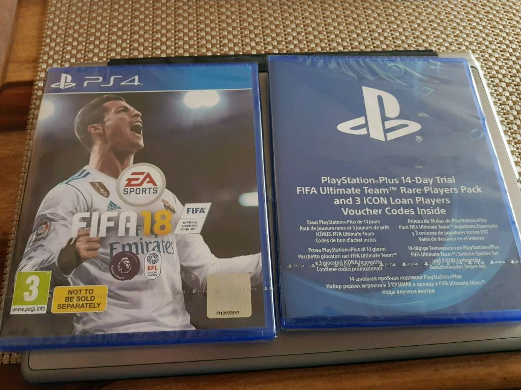 Ps4 fifa 18 + extras new