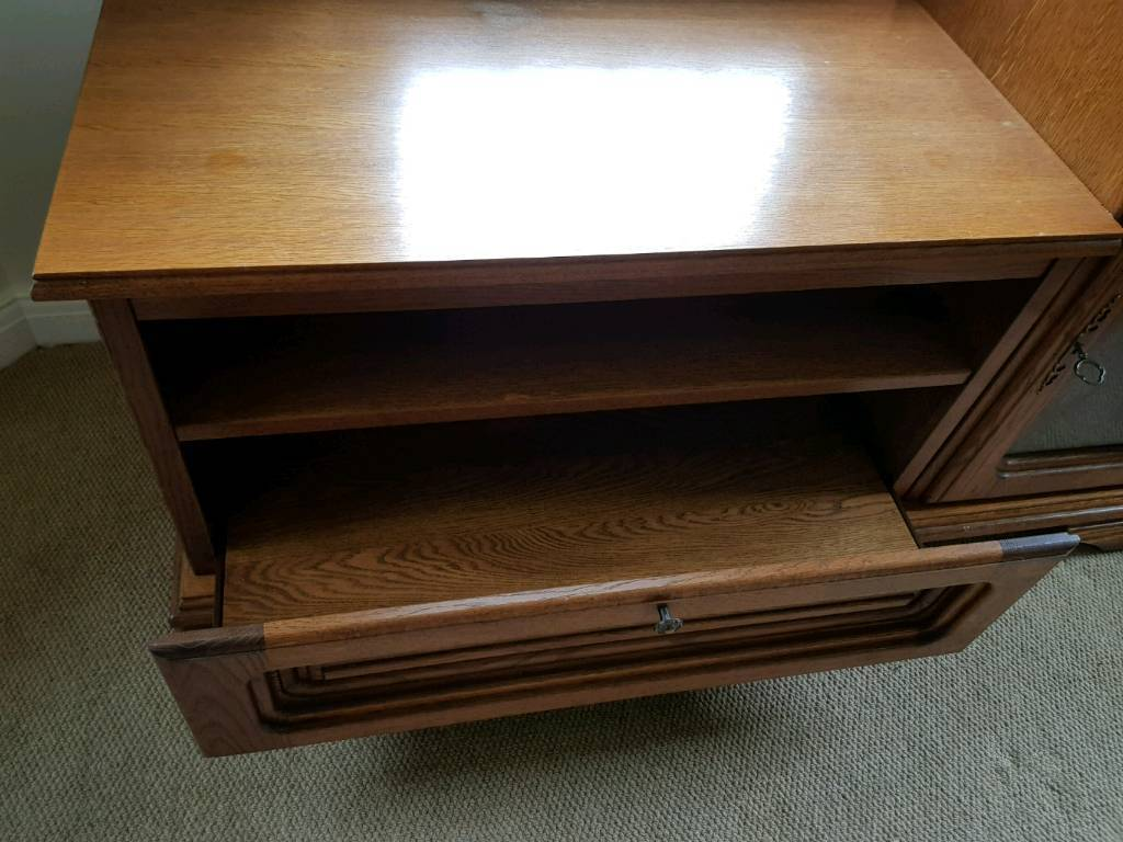 Tv Entertainment Unit In Markfield Leicestershire Gumtree # Table Pour Tv