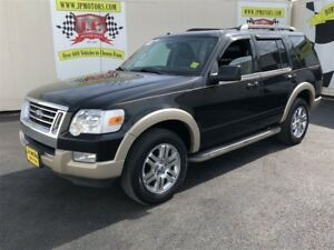 2010 Ford Explorer Eddie Bauer, Leather, Heated Seats, 4x4